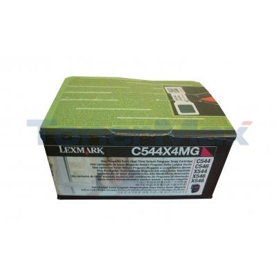 LEXMARK C544 TONER CART MAGENTA XHY RP TAA